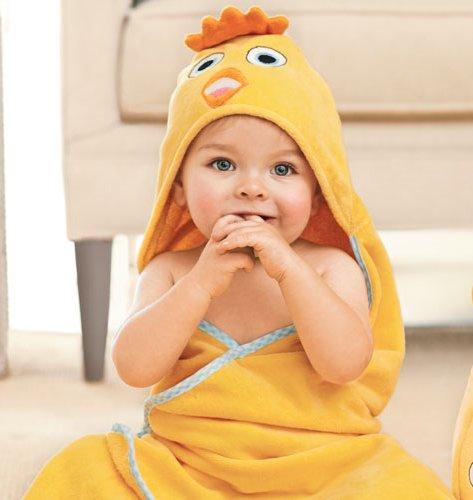Tiny Tillia Joshy Chick Toddler Hooded Bath Towel - Avon