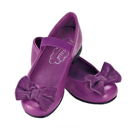 Size 6: Tiny Tillia Autumn Purple Dress Shoes - Avon