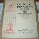 Original 1928 Indy 500 Race Program 16th Sweepstakes