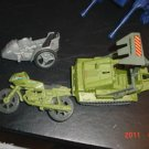 "GI Joe 3-3/4"" Bomb Disposal Motorcycle Side Car Cobra"