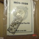 "Model Car Garage 12"" Electric fan Kit Photo Etched Kit 1/24 1/25 For Model Cars"