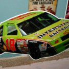 "47"" x 23"" HUGE Tin Interstate Batteries NASCAR Bar Sign Dale Jarrett Chevy #18"
