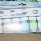 Testors Acrylic 9 Bottle Special Value Set Model Car Paint Water based