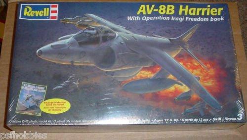 Revell 1/48 Harrier AV-8B w/ Operation Iraqi Freedom Book Plastic Model Kit