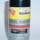 Testors Model Master Chrysler Yellow Lacquer 3oz Spray Can Model Car Paint