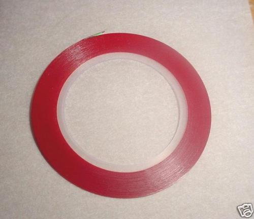 """1/8"""" Red Pinstripe Tape For Model Cars R/C Airplane Boats Trucks  Flames 120"""""""