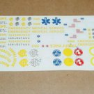 Fred Cady Decals #356 Chicago Fire Department Ambulance Rescue Truck EMS 1/25