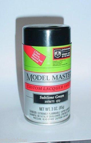 Testors Model Master Sublime Green Mopar Lacquer 3oz Spray Can Model Car Paint