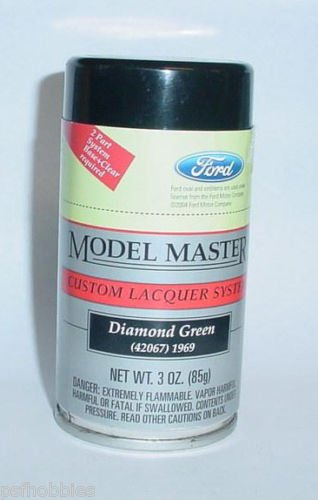 Testors Ford Diamond Green 3oz Spray Can Enamel Plastic Model Master Paint