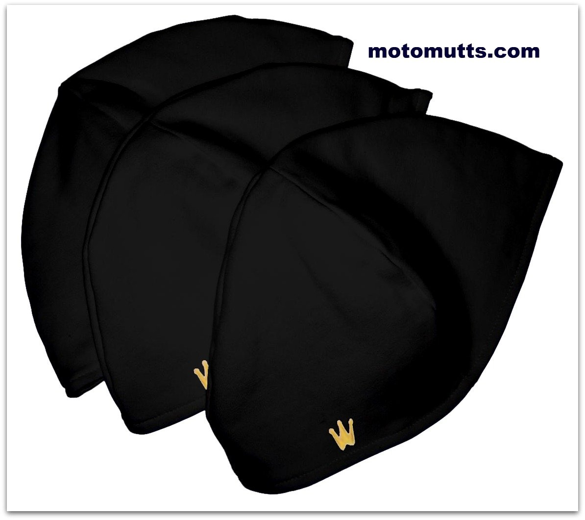 CrownWear Ultra thin Comfort Black 3pack