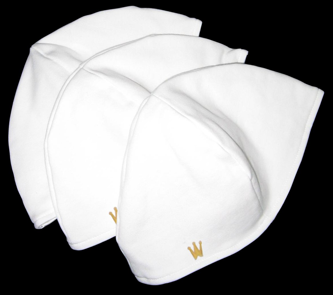 CrownWear Ultra-Thin Comfort Liner White 3pack
