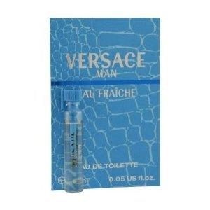 Versace Man Eau Fraiche 1.6 ml/0.05 oz Eau de Toilette Sample Vial by Versace for Men
