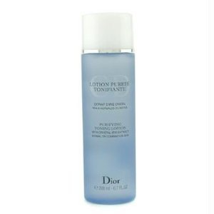 Christian Dior Purifying Toning Lotion (Normal/Combination Skin) for Unisex, 6.7 Ounce