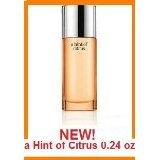 Clinique HAPPY Hint of Citrus Perfume Spray 0.24 oz / 7 ml Limited Edition for Women Eau de