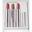 Clinique Exclusive Long Last Lipstick - 3 Pack