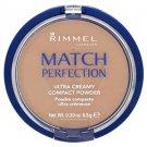Rimmel Match Perfection Compact Powder - 100 Ivory