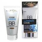 L'Oreal Luminize Code BB Cream Illuminating Skin Perfector SPF15 - Medium 50ml