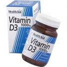 HealthAid Vitamin D3 1000iu Tablets 30 Tabs