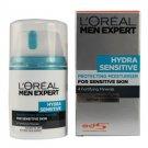 L'Oreal Men Expert Hydra Sensitive Protecting Moituriser for Sensitive Skin 50ml