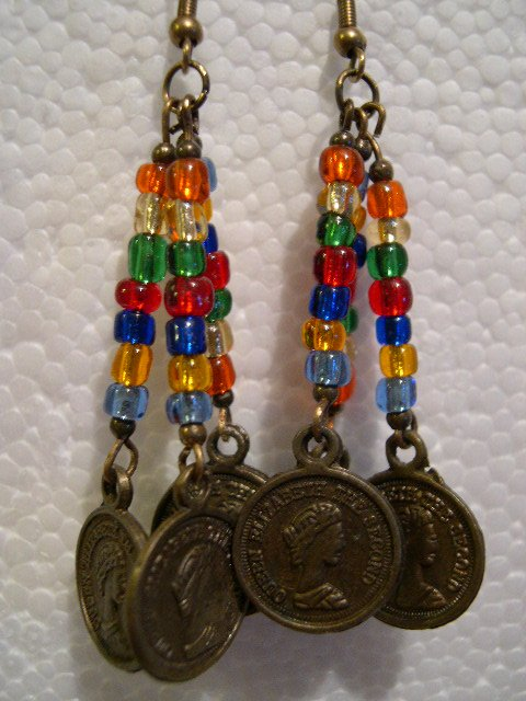 Hand-crafted Crystal Earrings LH06