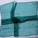 """Gift 21"""" Neck head Scarf Wrap Bandanna Kerchief Solid Teal - Fast Shipping"""