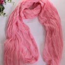 Gift Oblong Scarf Pink