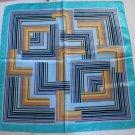 "Gift 23"" silk like Scarf Shawl Kenchief Bandanna Squares"