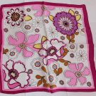 "Gift 20"" 100% Silk Neck Head Scarf Kerchief  Flowers"