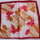 "Gift 20"" Neck Head Scarf Wrap Kerchief Bandana Maple Leaves"