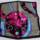 """Gift 20"""" Square Neck head Scarf Wrap Bandana Red Black - must read details"""
