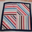 "Gift 23"" Chiffon Neck Head Scarf Wrap Kerchief Stripes"