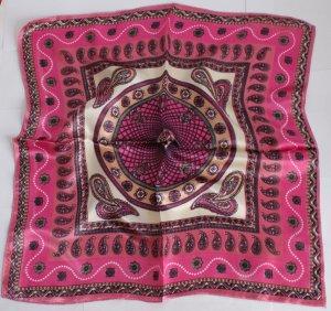 "Gift 20"" Neck Head Scarf Wrap Brown Black Pink"