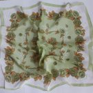 Gift 23'' Neck Head Scarf Wrap Bandana Green Floral