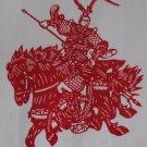 papercut paper-cuts papercutting art Romance of 3 Kingdoms- if buy 10pcs free ship must read details