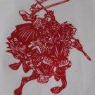papercut paper-cuts papercutting art Romance of 3 Kingdoms if buy 10pcs free ship must read details