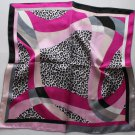 "Gift 21"" Neck Head Scarf Wrap Kerchief Leopard Spots - must read details"