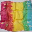 "Gift 24"" Neck head Scarf Wrap Kerchief Yellow Red green blue Fast Shipping"