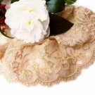 Lace Trim Embroidered Flowers on Mesh 1.1 yds Fast Shipping