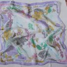 "Gift 23"" Neck head Scarf Wrap Bandanna - 1 uneven border -must read details"