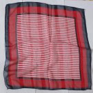 """Gift 20"""" Chiffon Neck head Scarf Wrap Stripes with defects -must read details"""