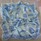 "Gift 32"" 100% silk Scarf Wrap Bandana Kerchief China Fast Shipping"