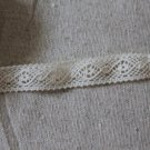 "Beautiful Crocheted Cotton lace trim 0.43"" Wide 6.6 yds Fast Shipping"