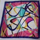 "Gift 20""  Imitation Silk Neck head Scarf Wrap Lines Fast Shipping"