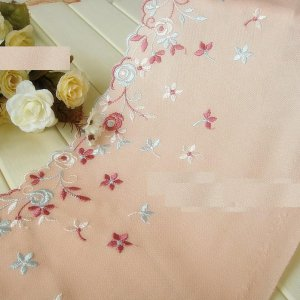 Fabulous Lace Trim Embroidered Floral 1 yd Fast Shipping