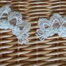 Beautiful Appliques Patch Lovely Crown 2 pcs Fast Shipping