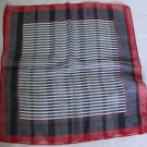 "Gift 20"" Chiffon Neck head Scarf Wrap Stripes Fast Shipping"