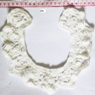 Beautiful Floral Crocheted Collar Appliques Patch Fast Shipping