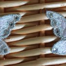 Lovely Butterflies with Sequins Appliques Patch 2 pcs Fast Shipping
