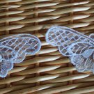 Lovely Embroidered Butterflies Appliques Patch 2 pcs Fast Shipping