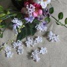 Fabulous Flowers Appliques Patches 9 pcs Fast Shipping